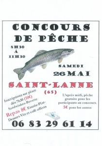 Concours de Pêche 2018 @ Lac de St Lanne